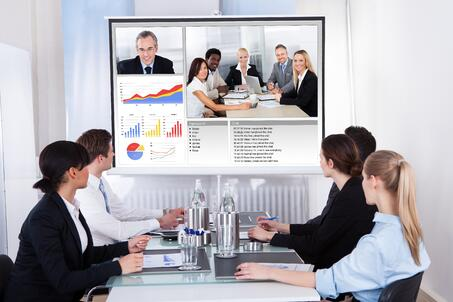 commercial integration video conferencing